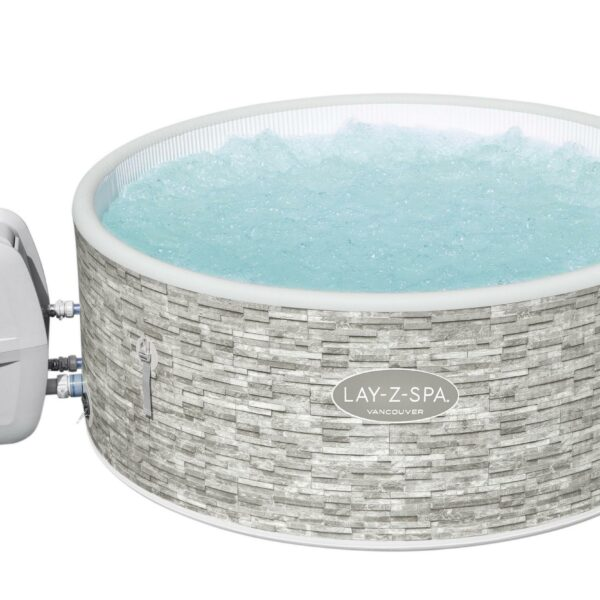 Lay-z spa vancouver plus product opblaasbarejacuzzi-shop.nl